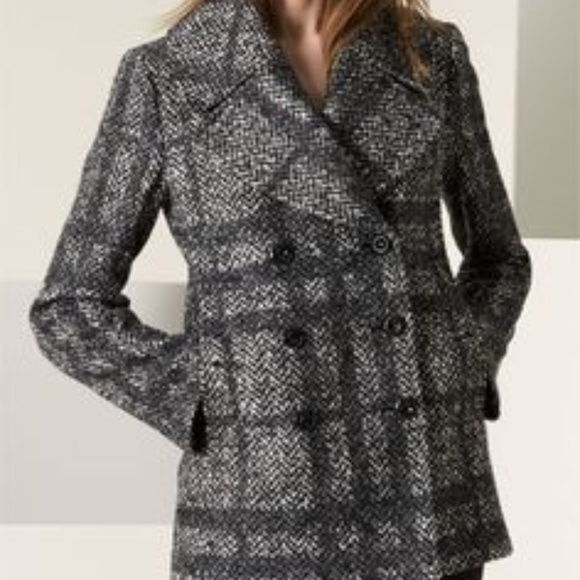 9602b93bf Burberry London   Double Breasted Tweed Peacoat